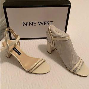 Nine West Sandal Ivory Leather
